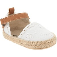 Old Navy Embroidered Espadrilles For Baby
