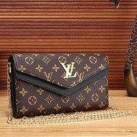 ONETOW Louis Vuitton Women Fashion Leather Satchel Shoulder Bag Crossbody