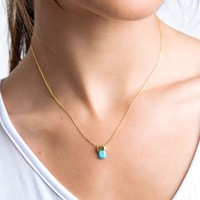 Healing Stone Necklace - Protection