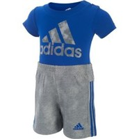 adidas Infant Boys' Dynamic Rise Bodysuit and Shorts Two-Piece Set| DICK'S Sporting Goods