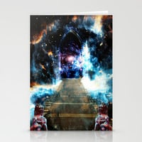 Galactic Doorway Stationery Cards by Nate4D7