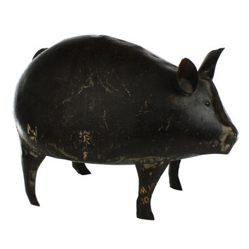 Reclaimed Metal Pig