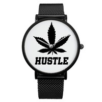 Hustle Weed Time Watch His & Her's