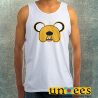 Adventure Time Finn Face Clothing Tank Top For Mens