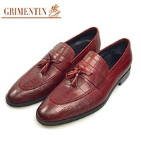 Men Business Shoes Black Brown Formal Shoes Man Lace Up Genuine Leather