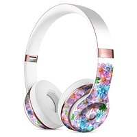 Rounded Flower Cluster Full-Body Skin Kit for the Beats by Dre Solo 3 Wireless Headphones