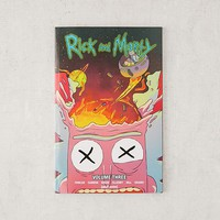 Rick And Morty Volume 3 By Tom Fowler & Pamela Ribon | Urban Outfitters