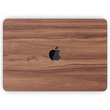 """Smooth-Grained Wooden Plank - Skin Decal Wrap Kit Compatible with the Apple MacBook Pro, Pro with Touch Bar or Air (11"""", 12"""", 13"""", 15"""" & 16"""" - All Versions Available)"""