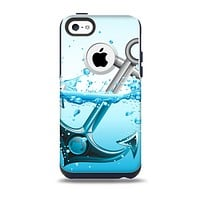 The Anchor Splashing Skin for the iPhone 5c OtterBox Commuter Case