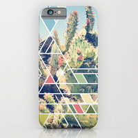 Cactus iPhone & iPod Case by 9000things
