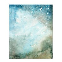 Abstract Painting , Print , Watercolor Painting , Abstract Watercolor, Water , Blue Abstract ,  Abstract Wall Art , Abstract Print 8 x 10