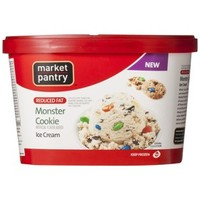 Market Pantry Reduced Fat Monster Cookie Ice Cream 1.5-qt.