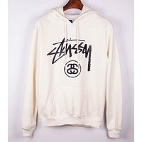 Stussy Unisex Fashion Casual Pattern Print T-shirt