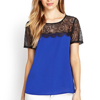 Ornate Lace Woven Top