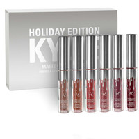 Christmas Kylie Lip Gloss Makeup 4Pcs/6Pcs Set [9664115151]