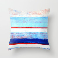 Stripes Throw Pillow by T30 Gallery