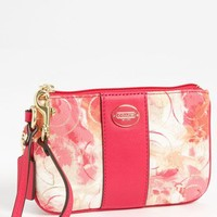 COACH 'Small' Floral Wristlet   Nordstrom