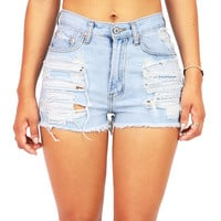 Beachbum High Waist Shorts | Trendy Shorts at Pink Ice