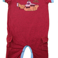 Rowdy Sprout Beatles Yellow Submarine Romper