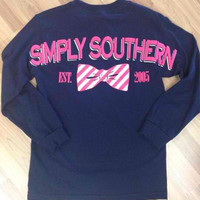 Simply southern long sleeve tee