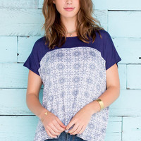 Westerly Printed Top