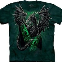 The Mountain Electric Dragon Adult T-shirt
