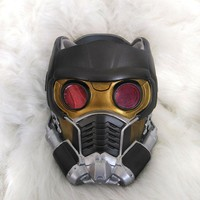 Movie Guardians of the Galaxy Star-Lord Star Lord Peter Jason Quill Superhero Latex Cosplay Masks Helmets Props Halloween