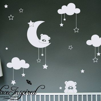 Removable Vinyl wall sticker wall decal Art by surfaceinspired
