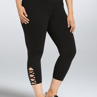 Torrid Active - Crisscross Strap Cropped Leggings