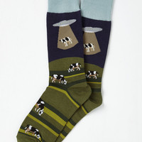Space to Graze Men's Socks | Mod Retro Vintage Socks | ModCloth.com