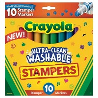 Crayola 10ct UltraClean Stamper Markers