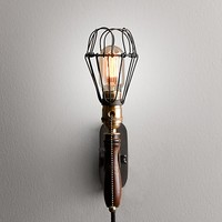 Factory Cage Sconce