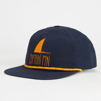 Captain Fin Shark Fin Mens Snapback Hat Midnight Blue One Size For Men 26164225501