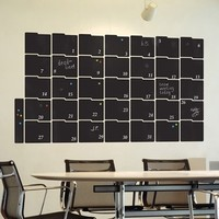 CHALKBOARD WALL STICKER in 'Month Planner' design