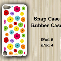 Floral Seamless iPod Touch 5 and iPod Touch 4 Rubber Case or Plastic Case