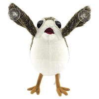 The Last Jedi Porg Bird Plush Toys Peluche Doll Star Wars Fans Collection on Board Figure Suction Cup Plush 22cm