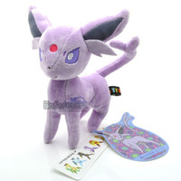 "Pokemon GO 8"" EEVEE Collection ESPEON Rare Plush Soft Toy Doll^PC1833"