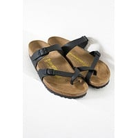 Mayari Vegan Birkenstocks | Black