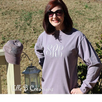 COMBO-- Comfort Colors Long Sleeve T-Shirt and baseball cap COMBO