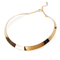 Linear Collar Necklace