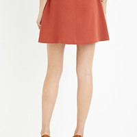 Contemporary Buckled A-Line Skirt | LOVE21 - 2000174603