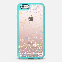 Pastel Confetti Explosion Transparent iPhone 6s case by Organic Saturation | Casetify