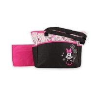 Diaper Bag & Changing Pad - Minnie Mouse - Rose Art