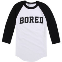 Reason Bored Raglan Tee at PacSun.com