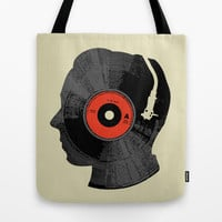 The Song In My Head Tote Bag by Budi Satria Kwan