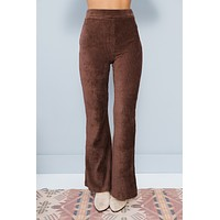 Hi Life High Rise Pants (Dark Burgundy)