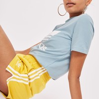 Yellow 3 Stripe Shorts by adidas Originals - New In Fashion - New In