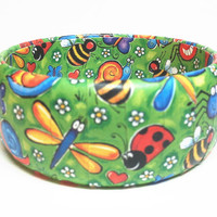 3 DAY BLITZ SALE Reduced to sell Funky Chunkie Bangle Bracelet, Ready to Ship