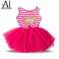 Kids Party Dresses Outfits Children's Girl Dress Infant Clothing Clothes Girl