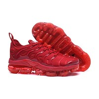 2018 Nike Air VaporMax Plus TN All Red Sport Running Shoes